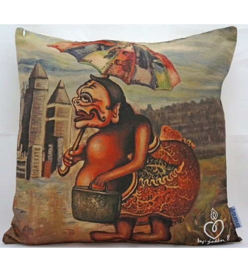 Throw Pillow Urban Semar