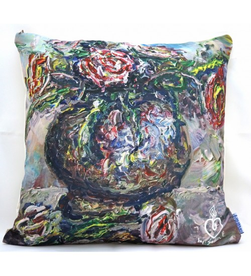 Throw Pillow Cover rose inspiration
